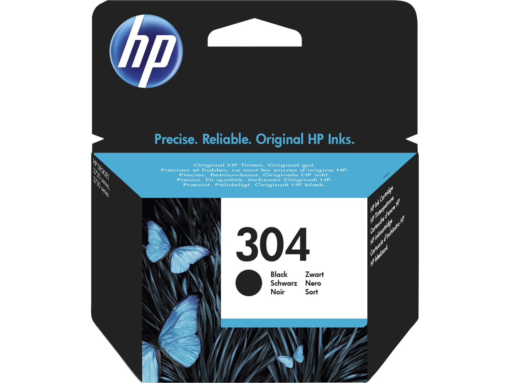 HP 304 Black Original Standard Capacity Ink Cartridge