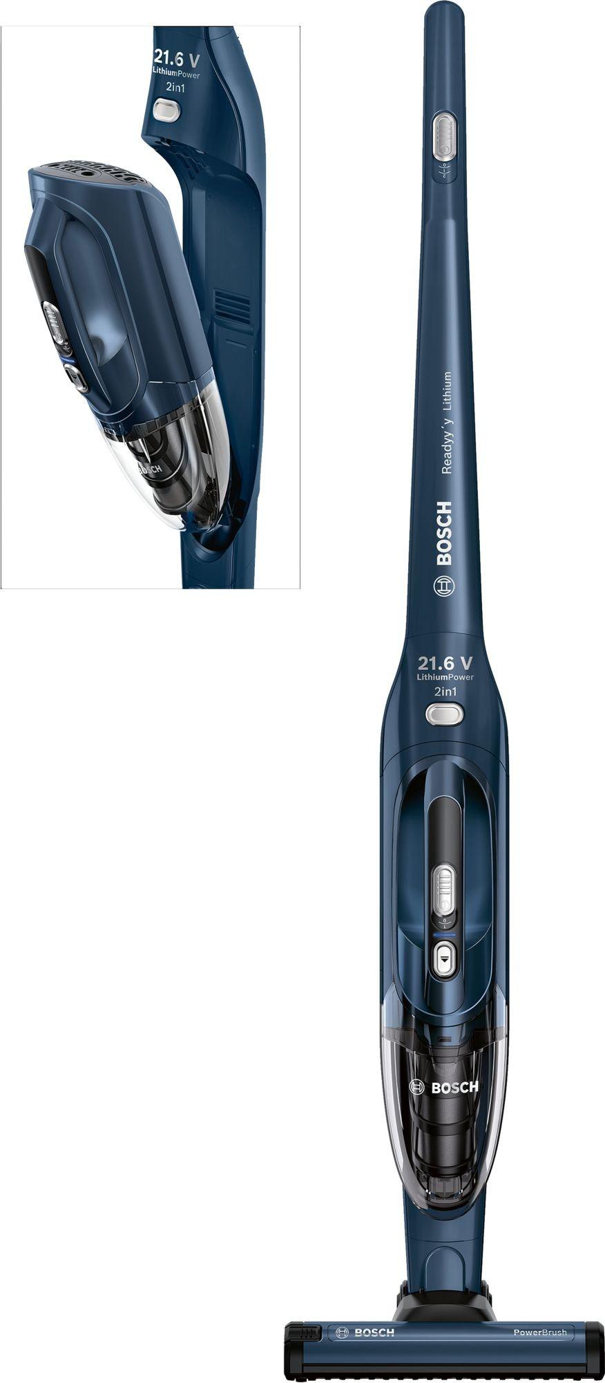Bosch steelstofzuiger BBHL22140 blauw