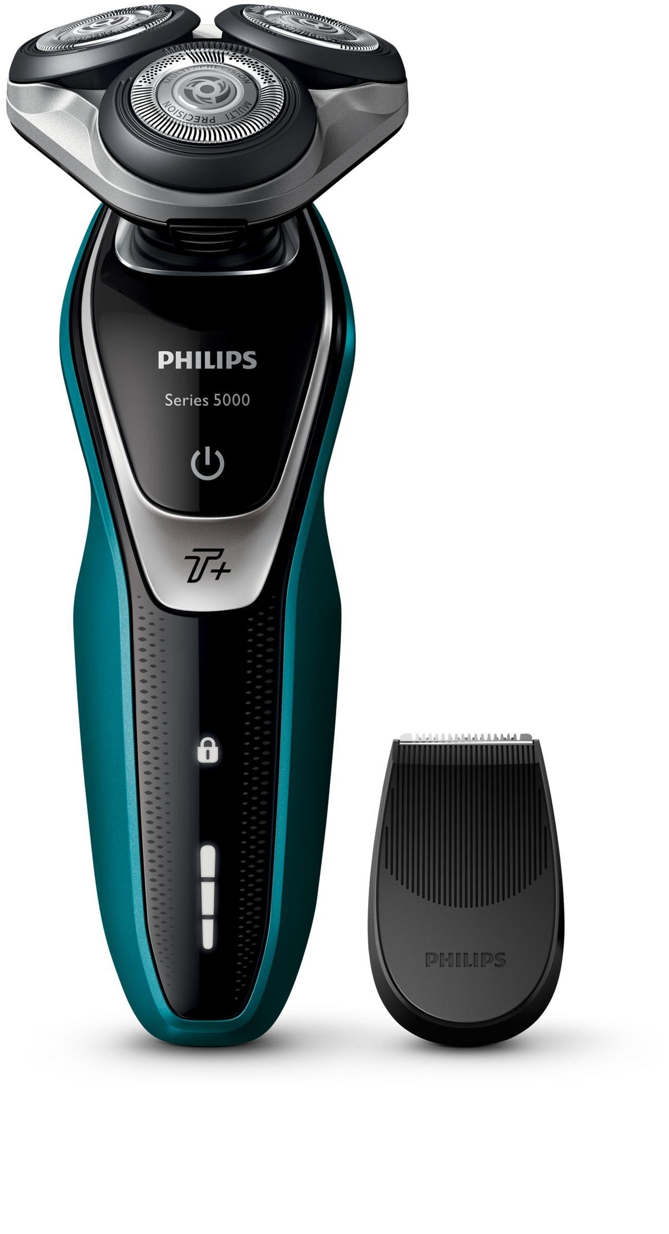 Philips scheerapparaat S5550/06 zwart/groen