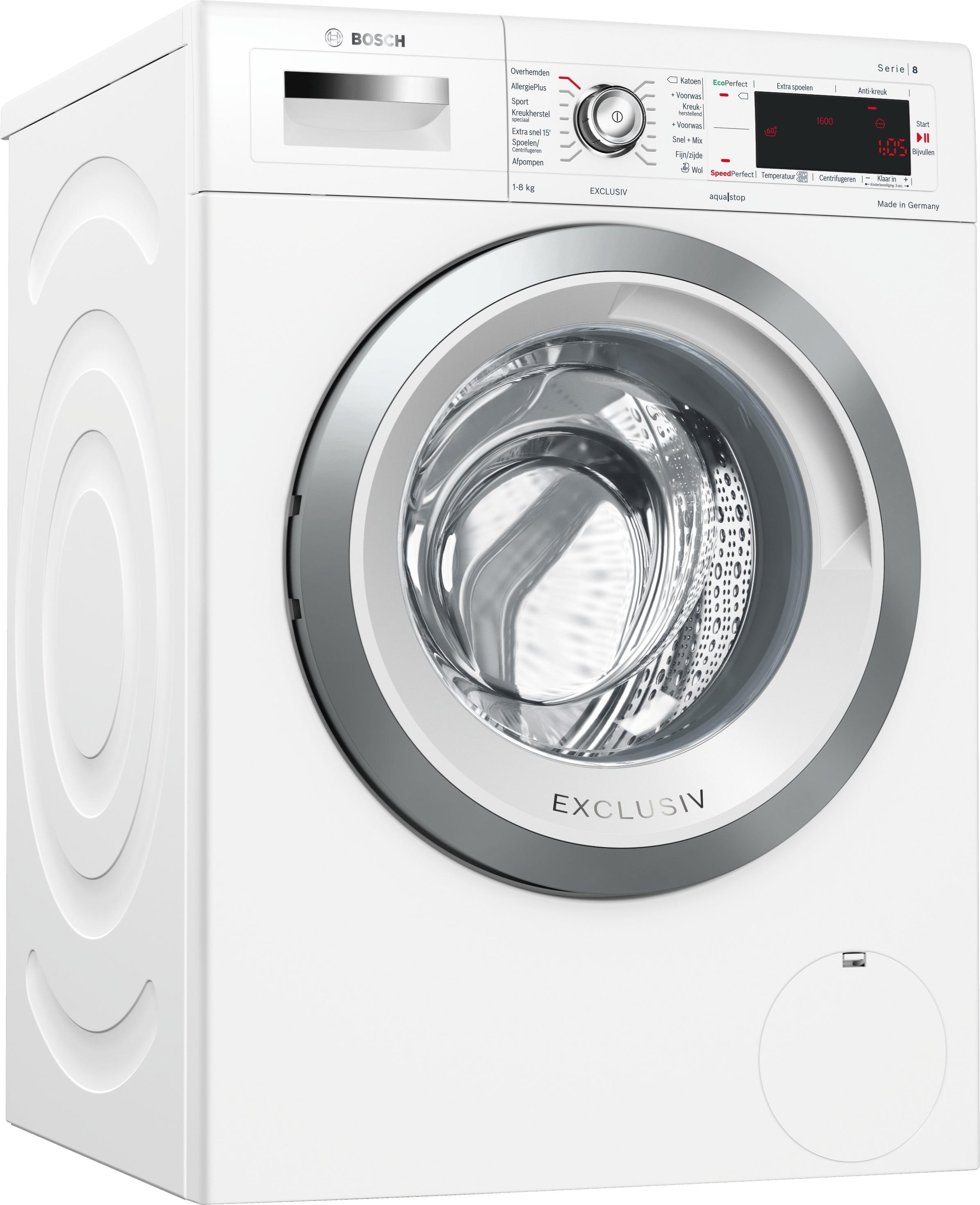 Bosch WAW32582NL wasmachine