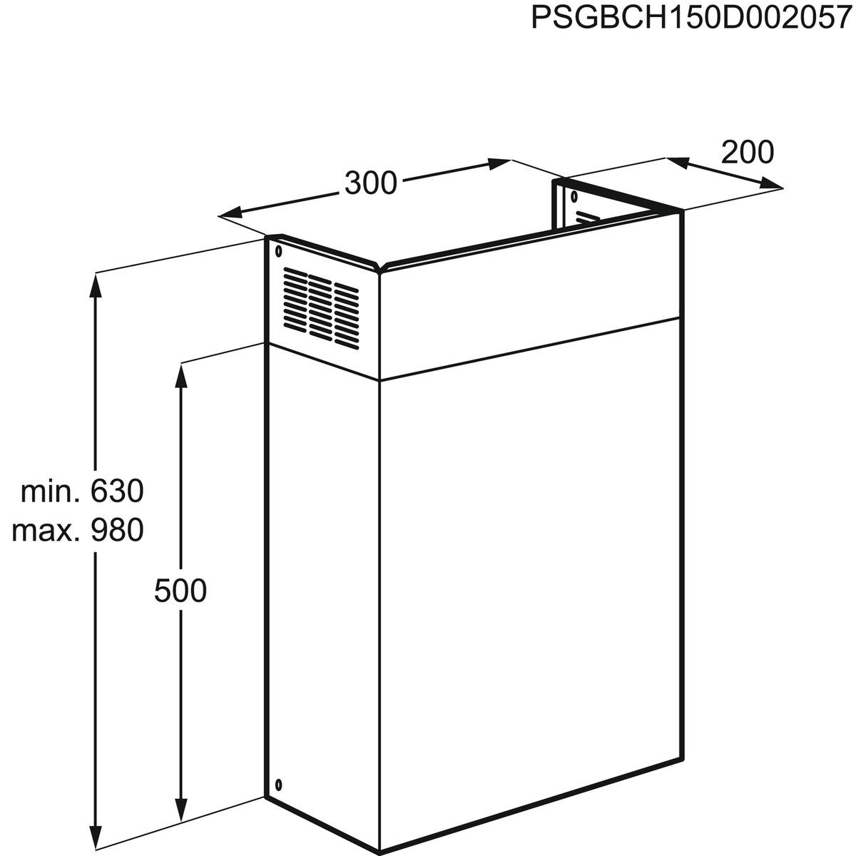 Electrolux K2000X Afzuigkap accessoire