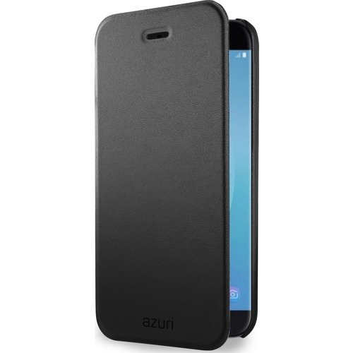 Azuri telefoonhoesje Booklet case Ultra Thin voor Samsung Galaxy J7 2017 zwart