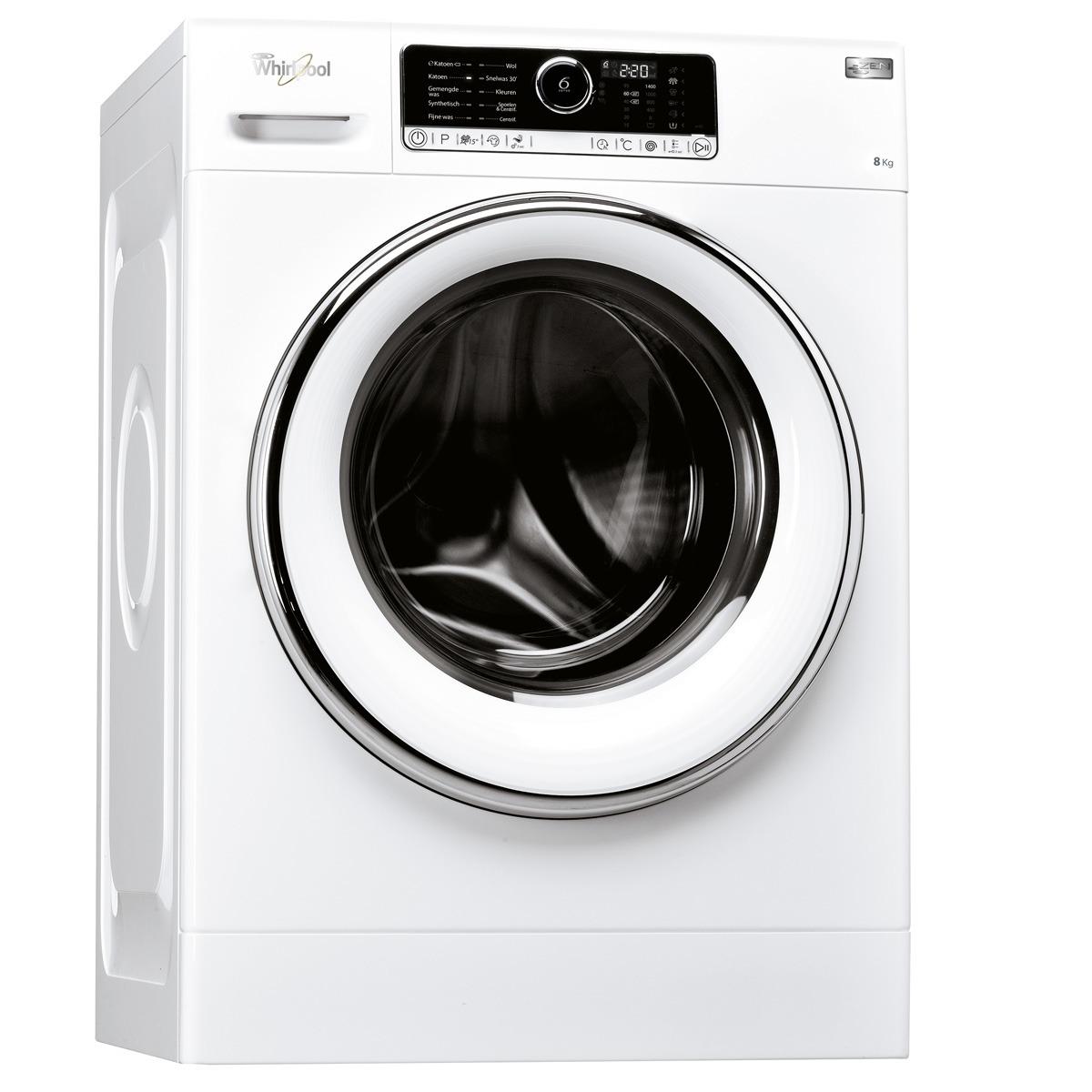 Whirlpool FSCR 80428 Wasmachine Wit