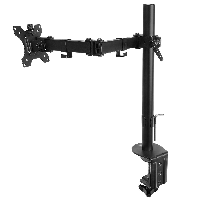 Ewent Universele bureausteun voor een monitor tot 27 inch en 8 kg Desktop accessoire Zwart