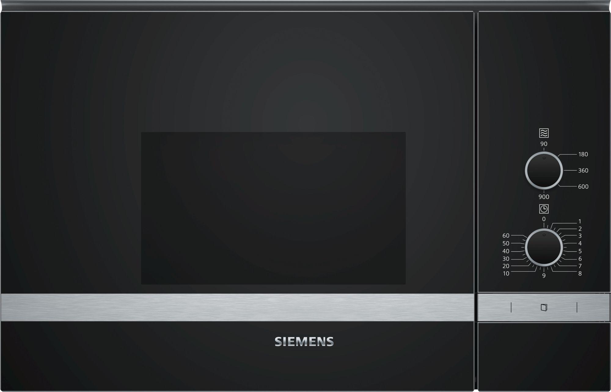Siemens BF550LMR0 Inbouw Magnetron Zwart