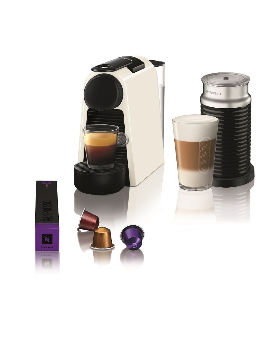 Magimix nespresso Essenza Mini Aeroccino M115 wit