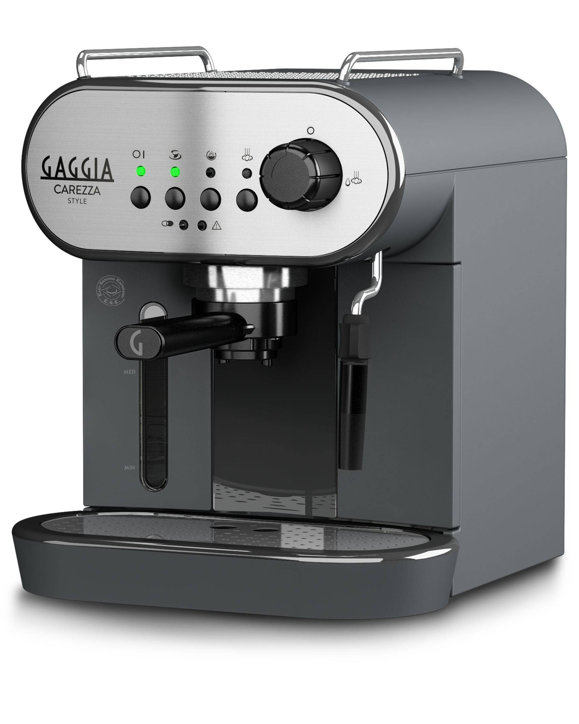 Gaggia espresso apparaat Carezza zwart