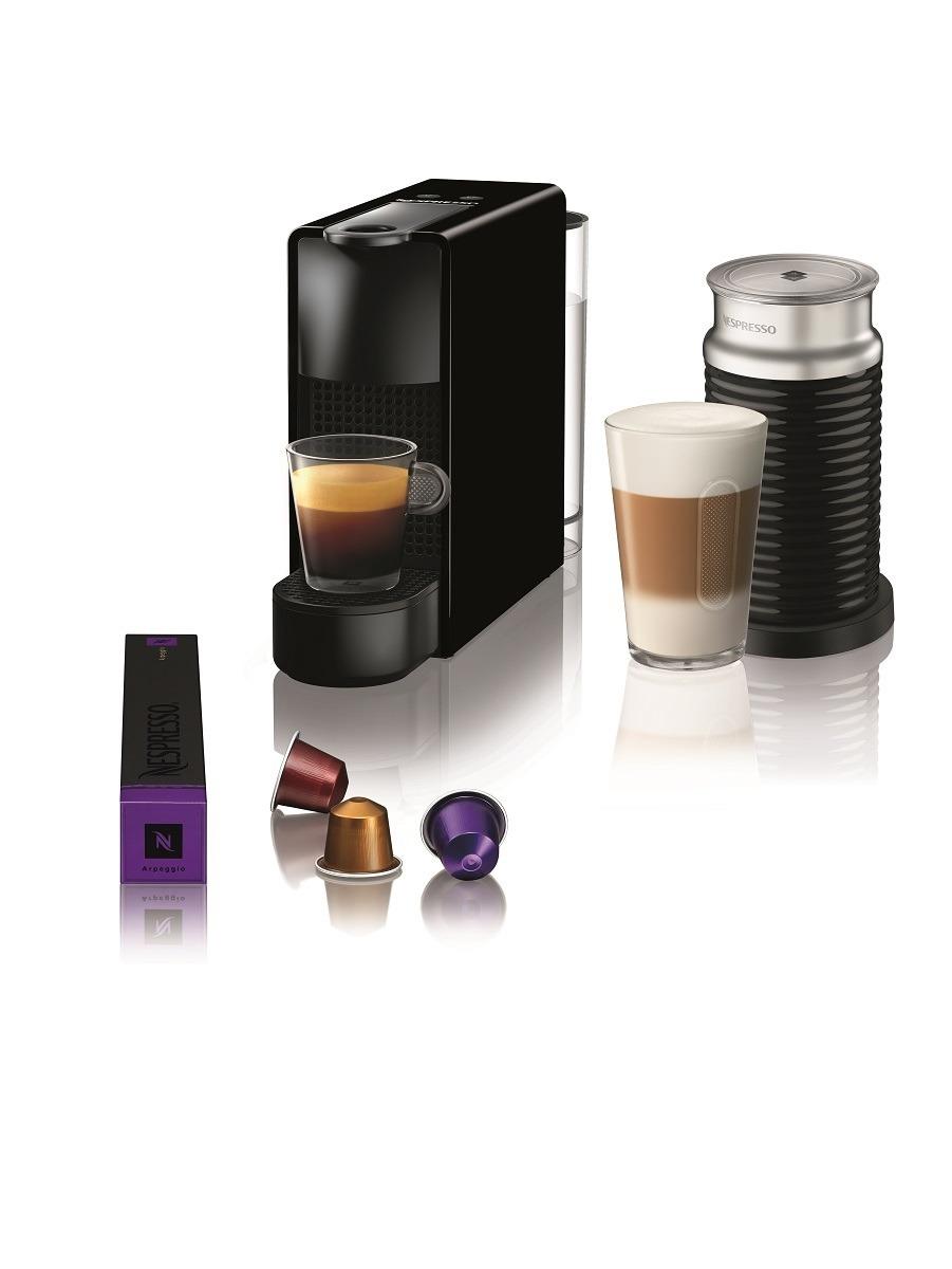 Krups nespresso Essenza Mini Aeroccino XN1118 zwart