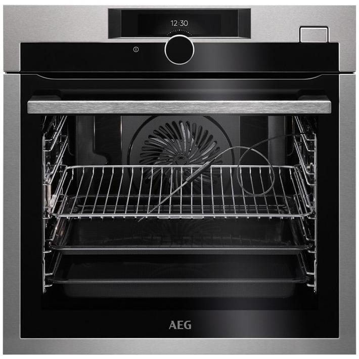 AEG BSE882220M SteamBoost Inbouw oven Zwart