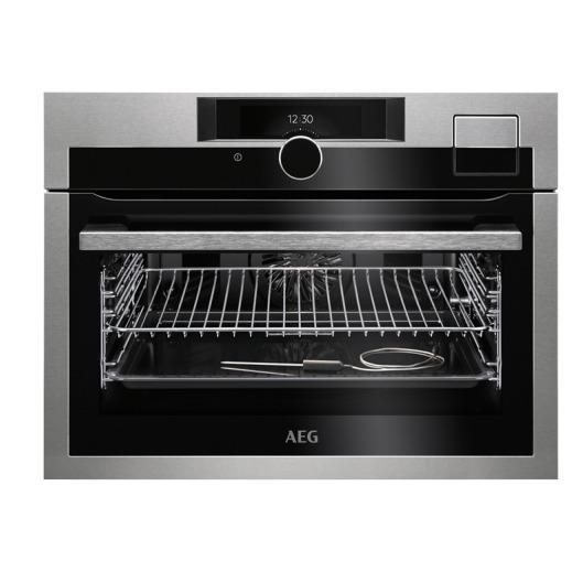 AEG KSE892220M SteamPro Inbouw oven Zwart