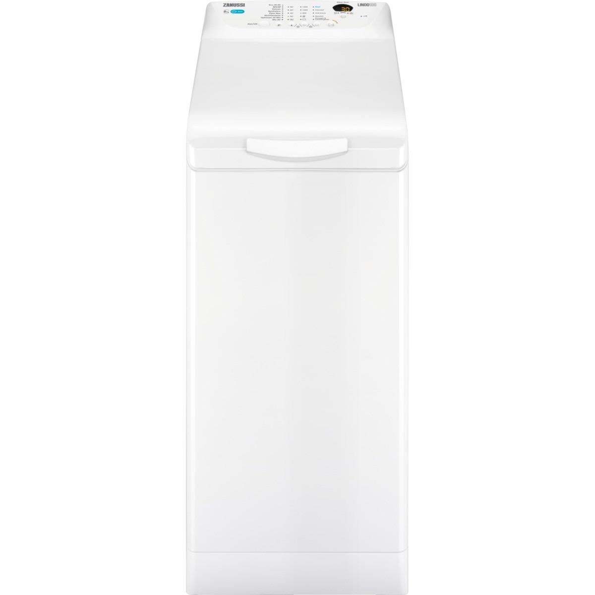 Zanussi ZWY61225NW Wasmachine bovenlader Wit