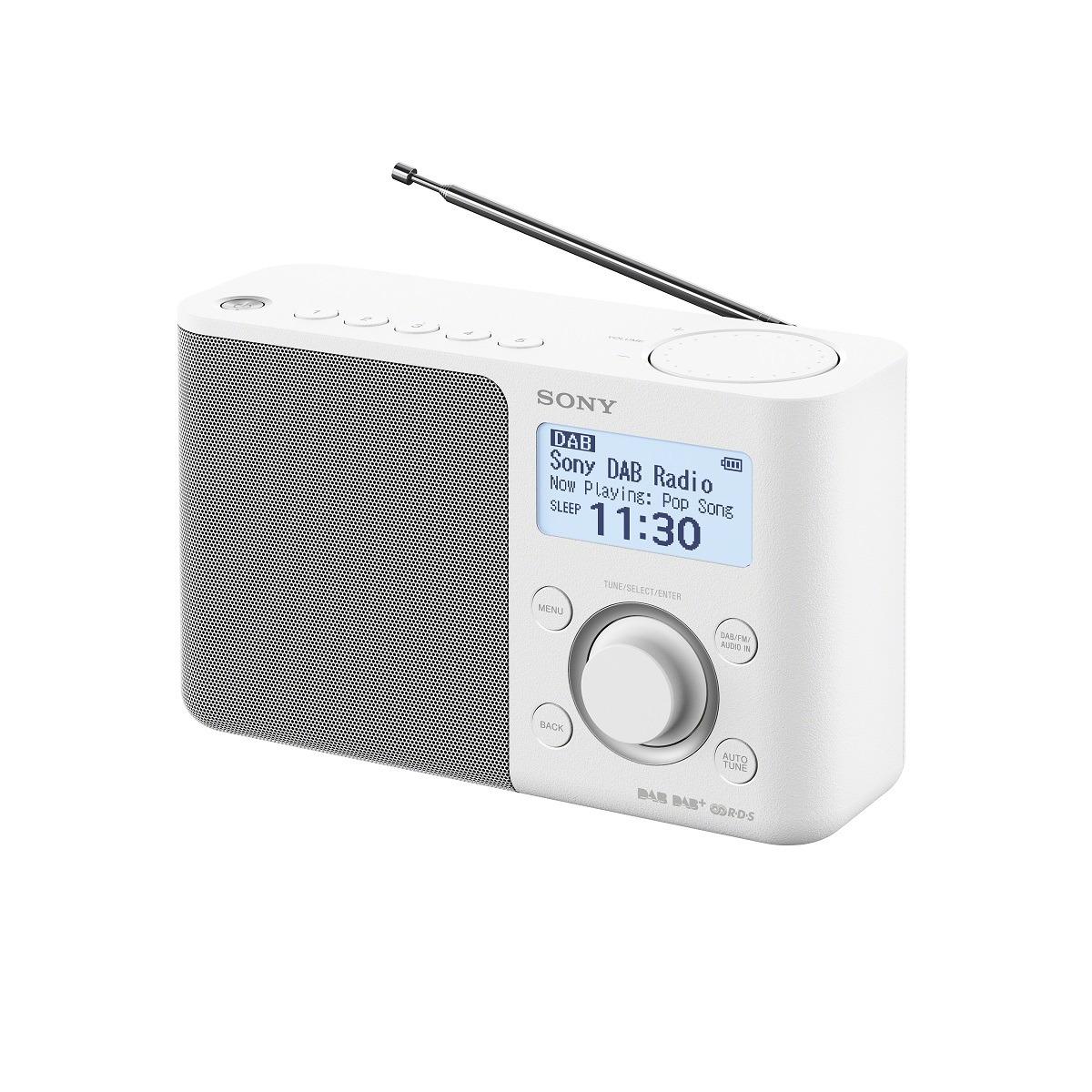 Sony XDR-S61D DAB radio Wit
