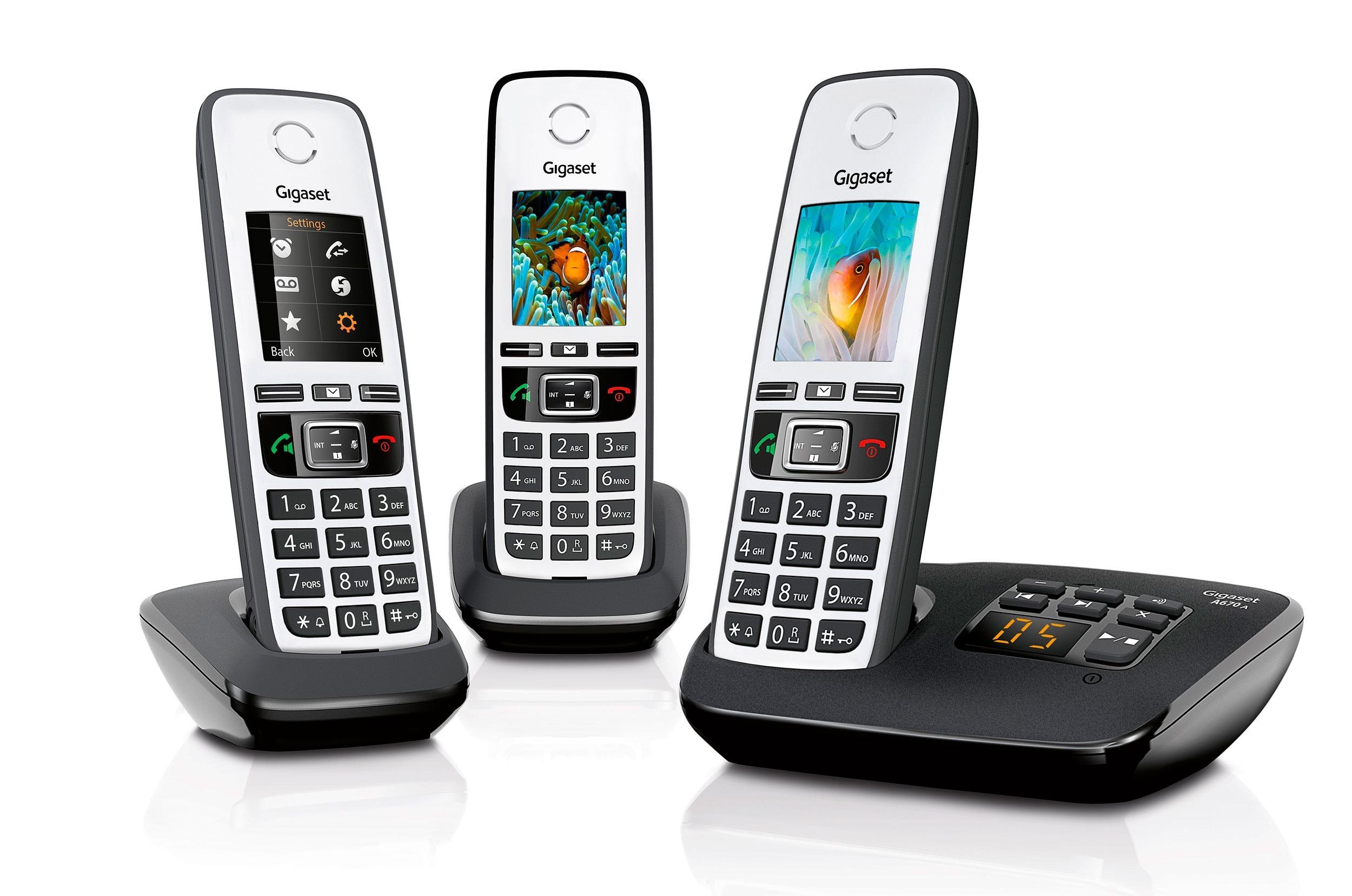 Op Perfect Plasma is alles over phone te vinden: waaronder expert en specifiek Gigaset A670A Trio dect telefoon