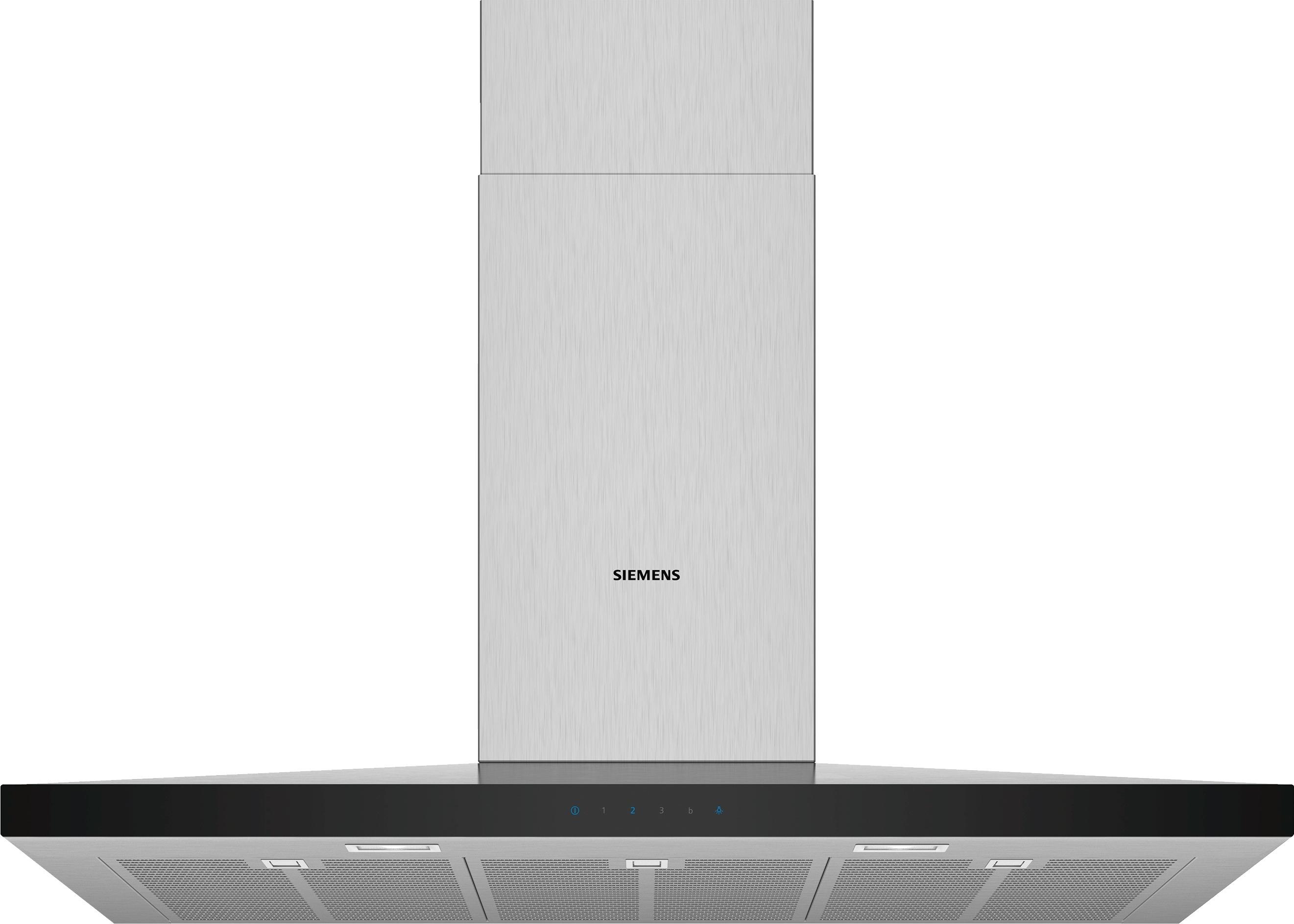 Siemens LC97QFM50 Schouwkap Aluminium
