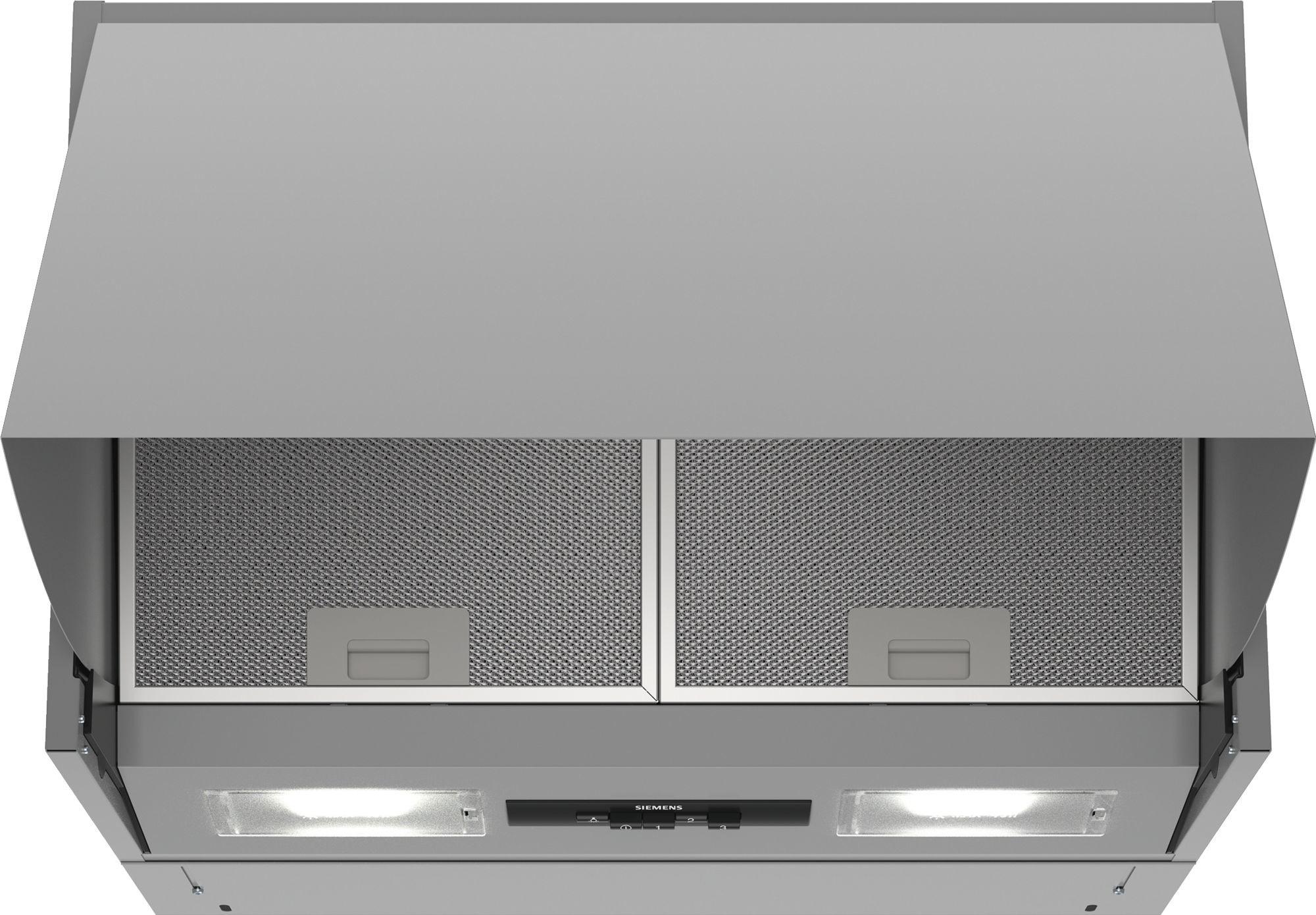 Siemens LE63MAC00 Afzuigkap geïntegreerd Aluminium