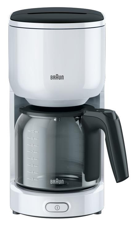 Braun koffiefilter apparaat KF3120 WH wit/grijs