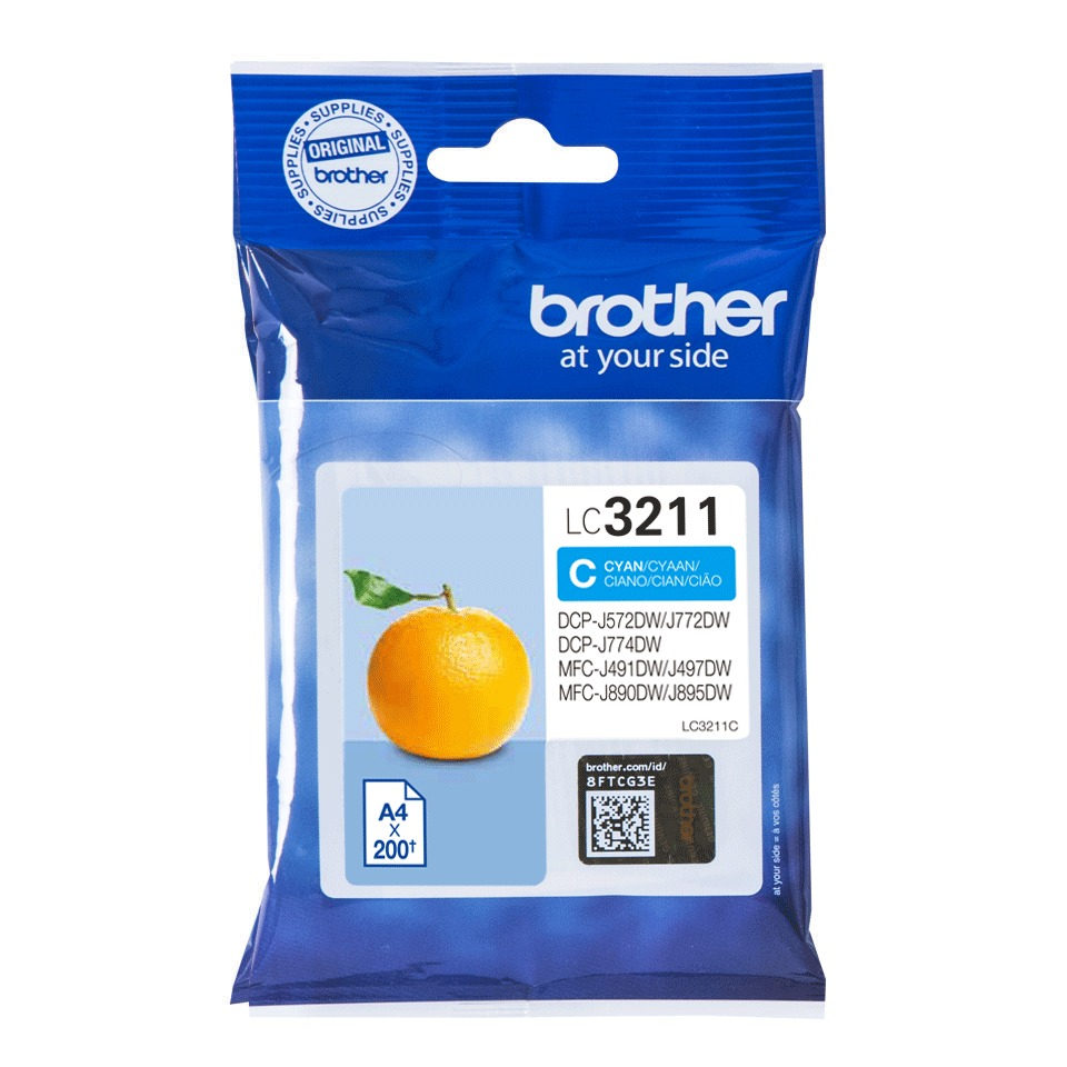 Korting Brother LC 3211C inkt