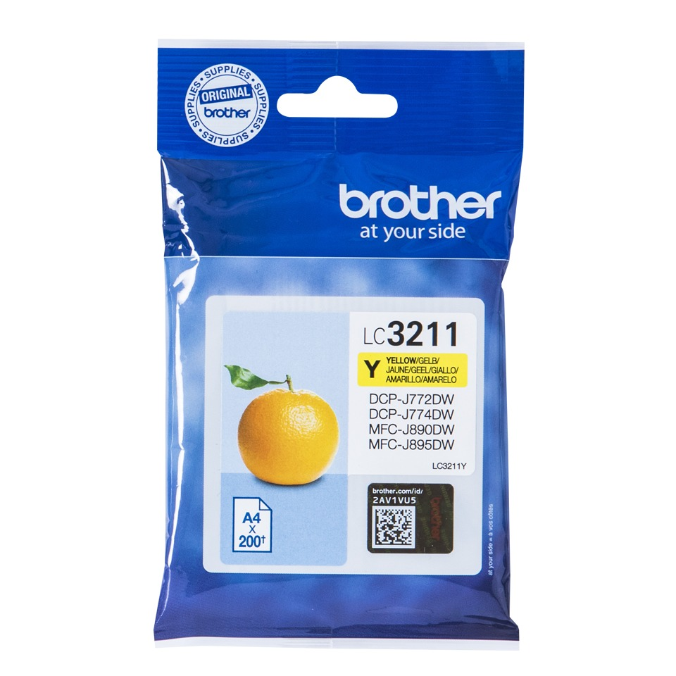 Korting Brother LC 3211Y inkt