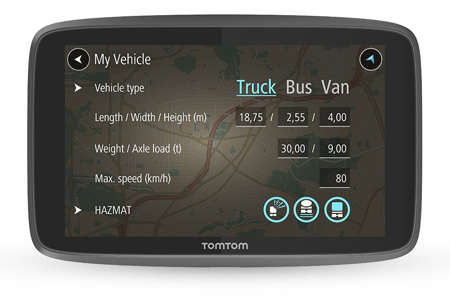 Tomtom autonavigatie Go Professional 6250 Europa