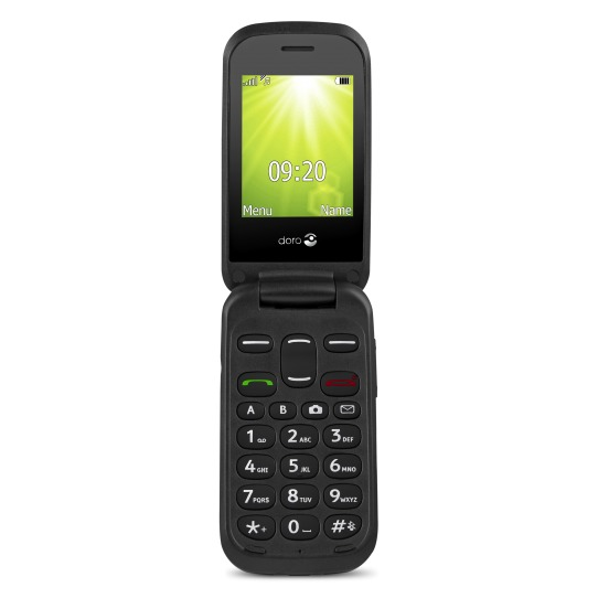 Doro 2404 2G Mobiele telefoon Zwart