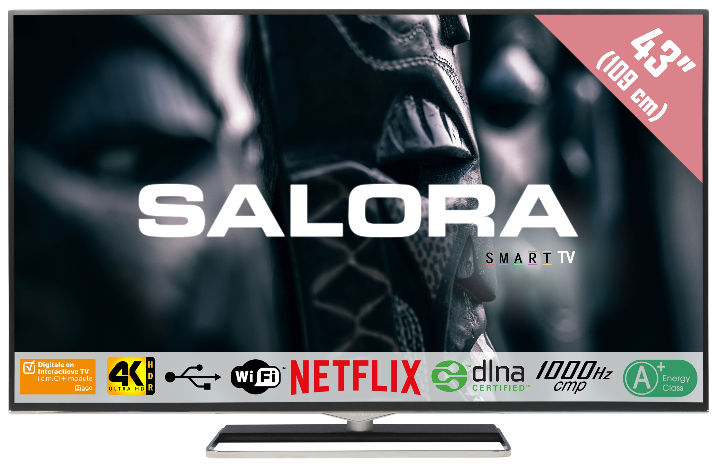 SALORA UHD TV 43UHX4500