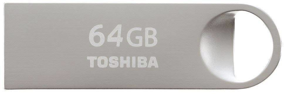 Toshiba usb sticks TransMemory U401 64GB USB 2.0 zilver