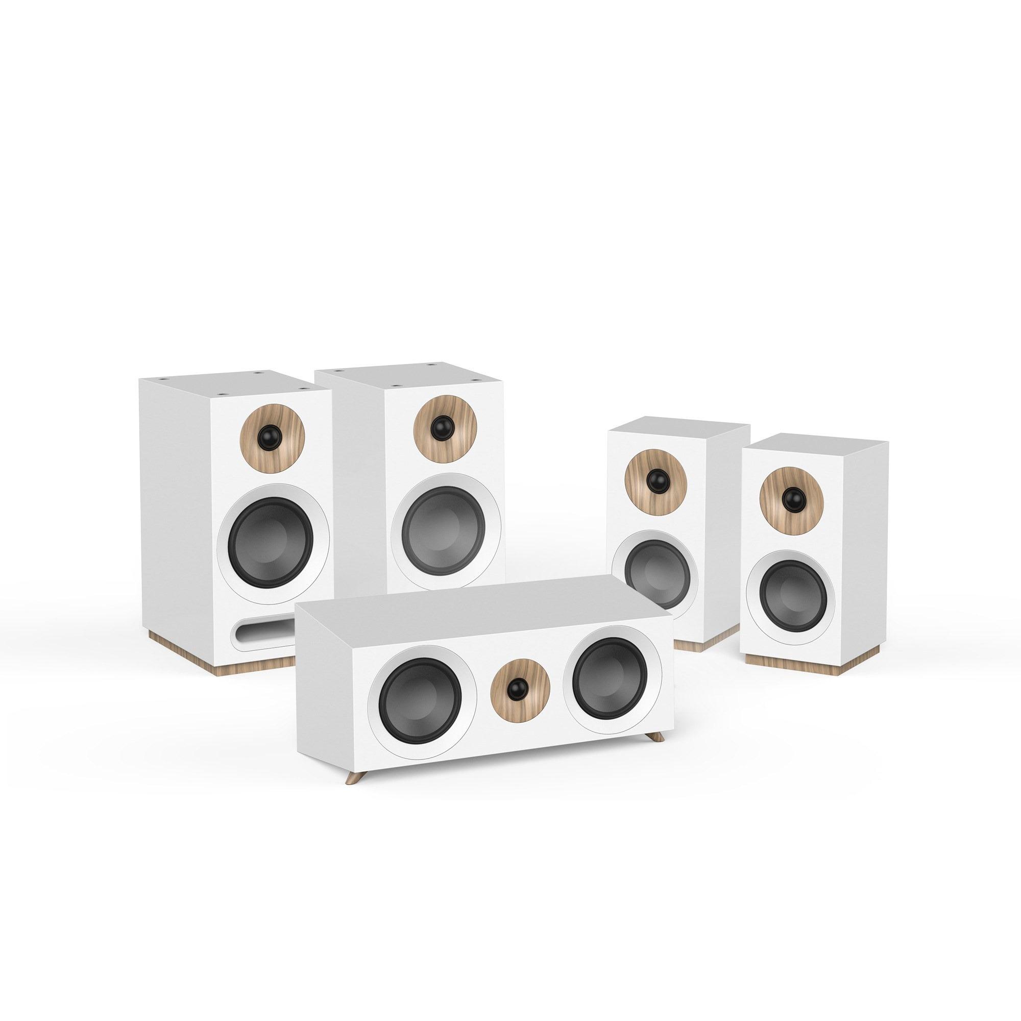 Jamo S 803 HCS SET Surround set speaker Wit
