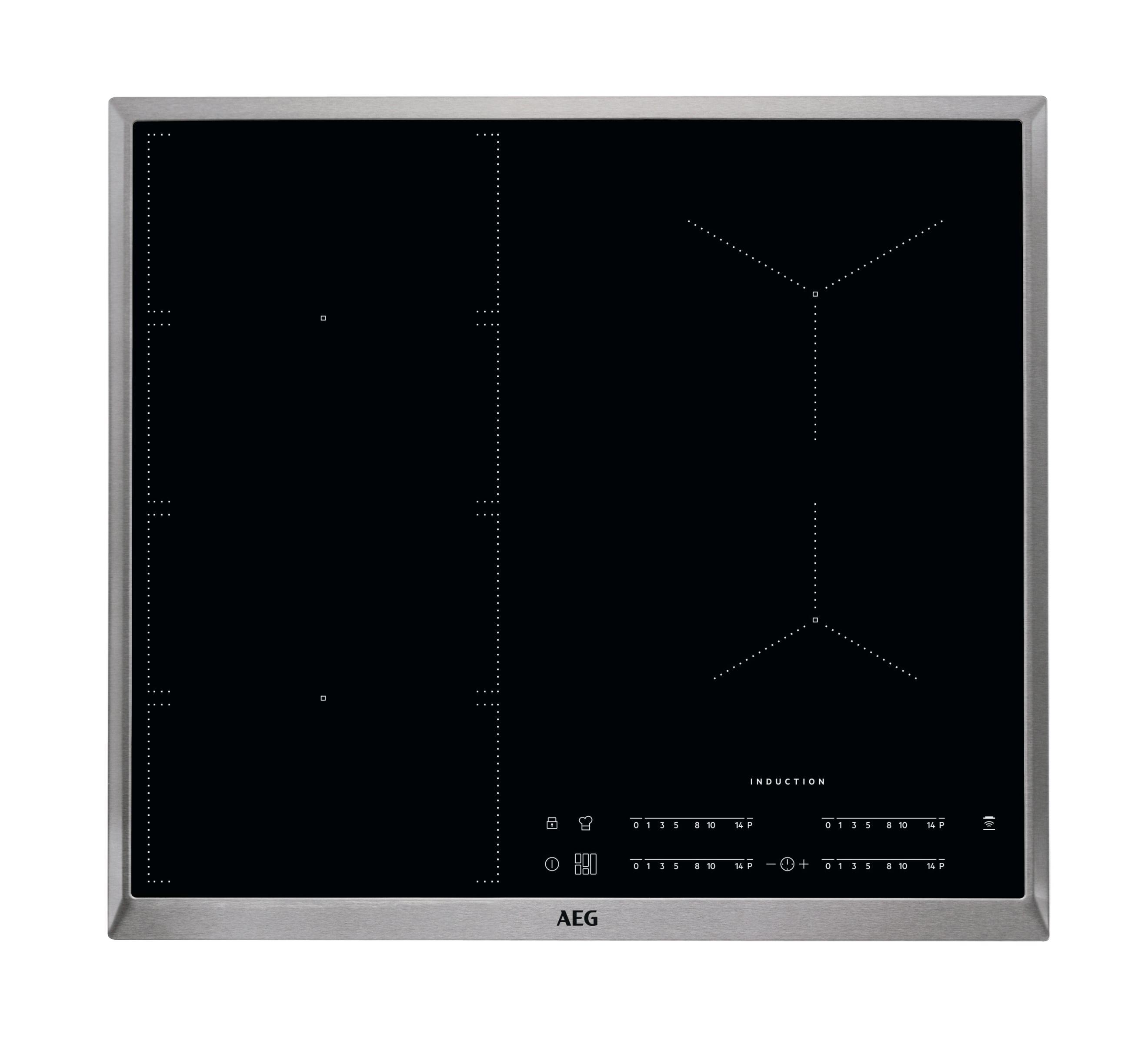 AEG IKE64471XB Inductie inbouwkookplaat Zwart