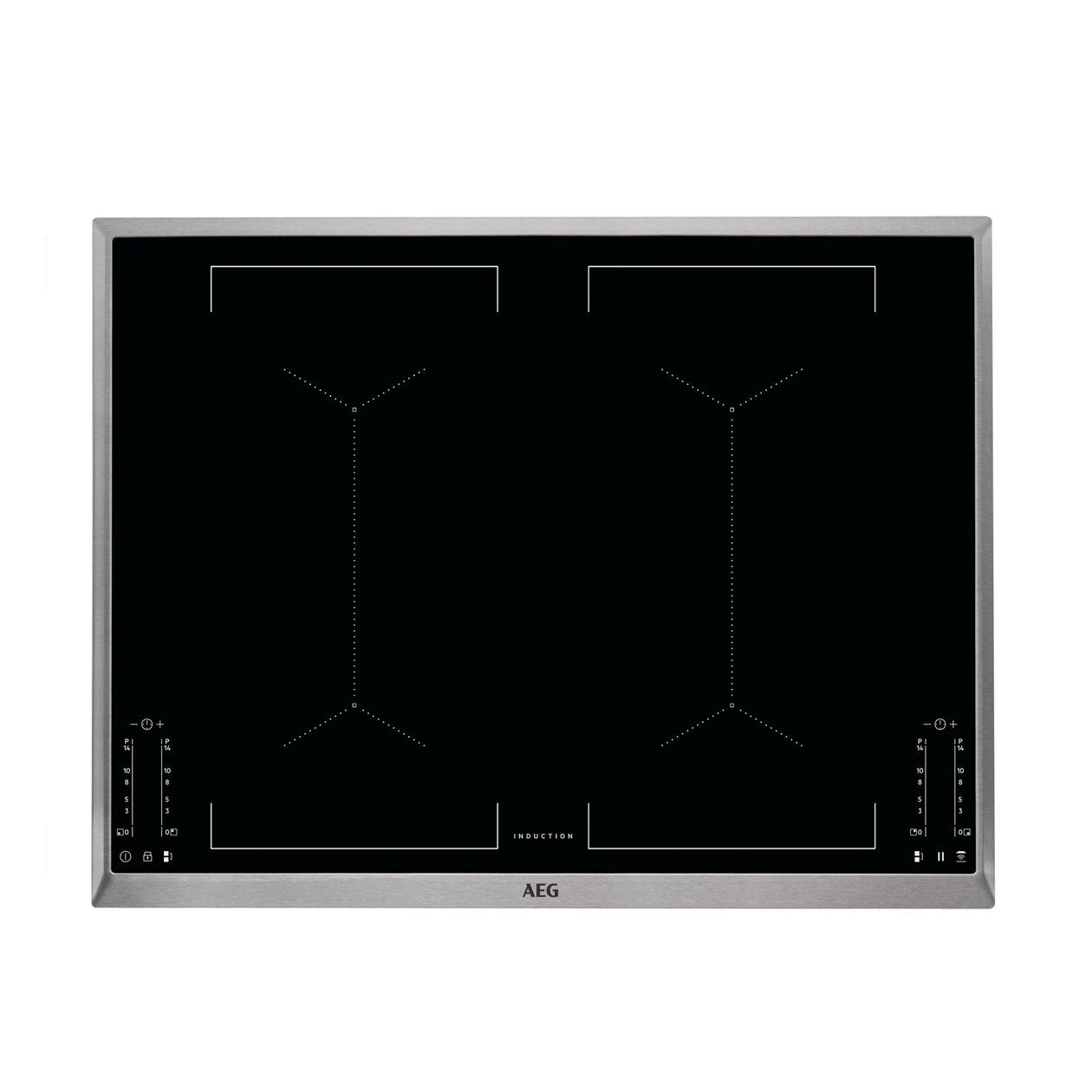 AEG IKE74451XB Inductie inbouwkookplaat Staal