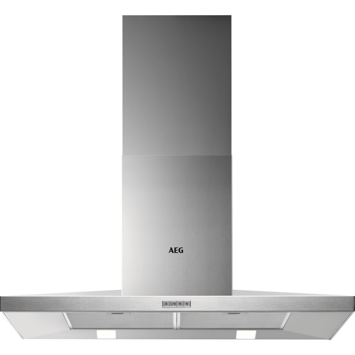 AEG DKB4950M Schouwkap Staal