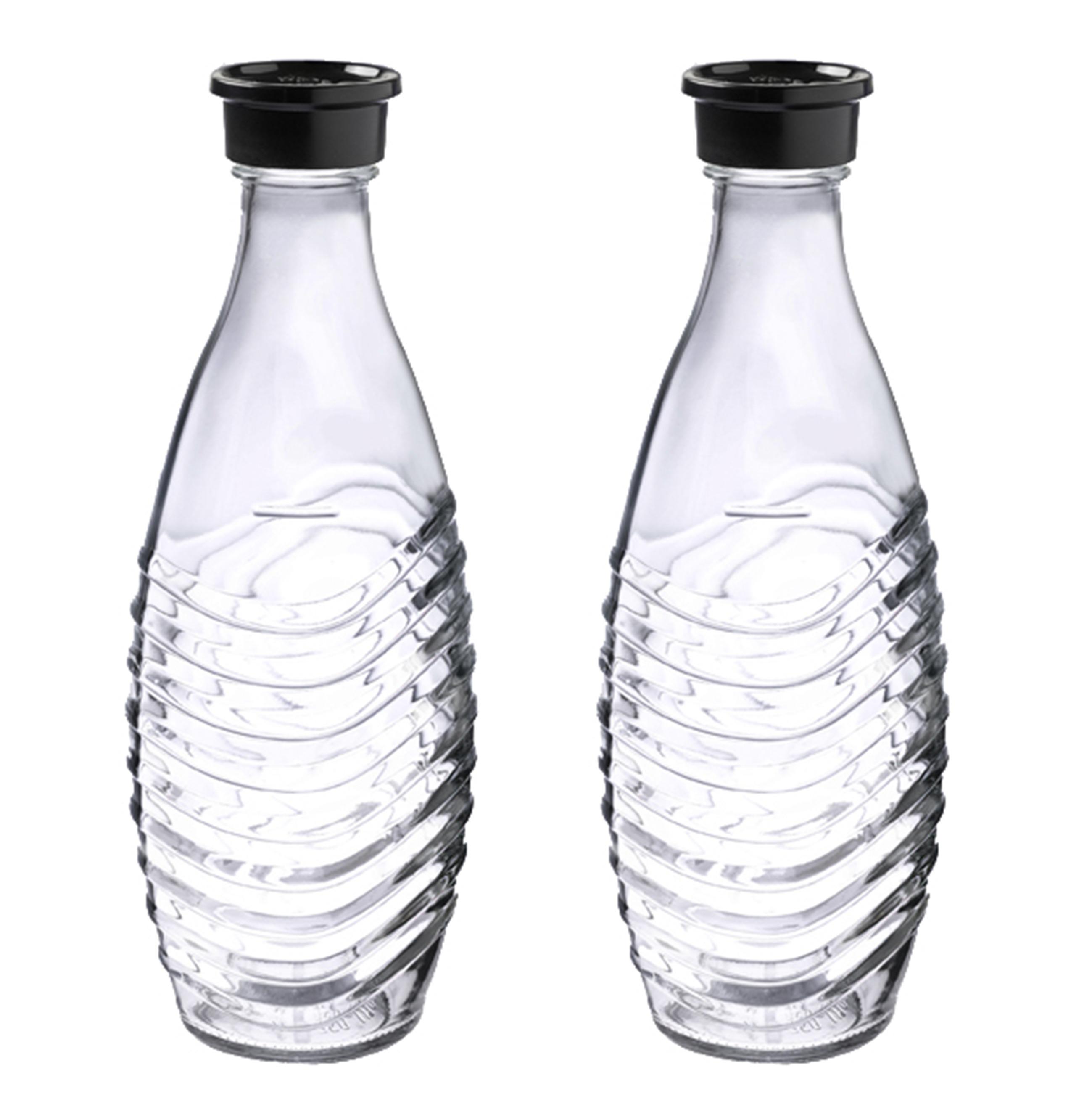 Sodastream Glaskaraffe DuoPack voor Soda Maker Crystal en Penguin Glaskaraffe DuoPack Glas 104720049