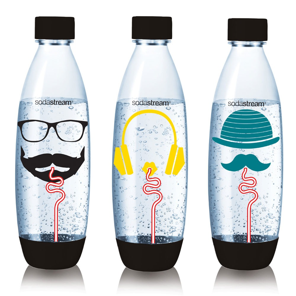 Sodastream waterkan Fuse Flessen Hipster 3x