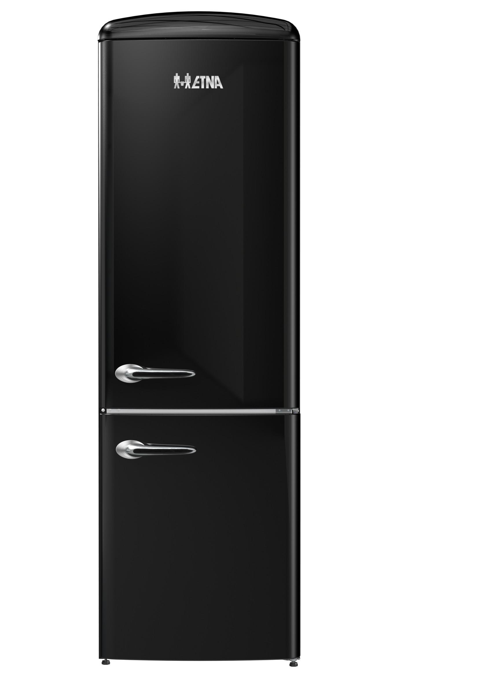 Etna KVV594ZWA Koelkast met vriesvak Zwart