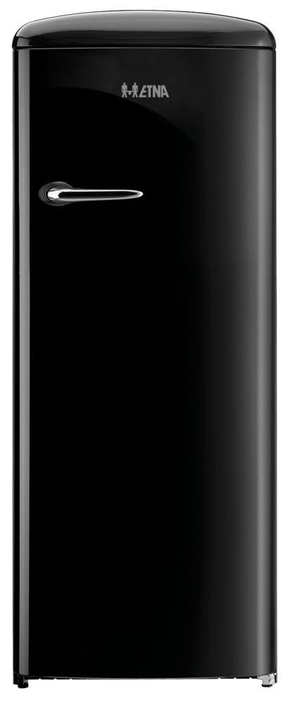 Etna KVV754ZWA Koelkast met vriesvak Zwart
