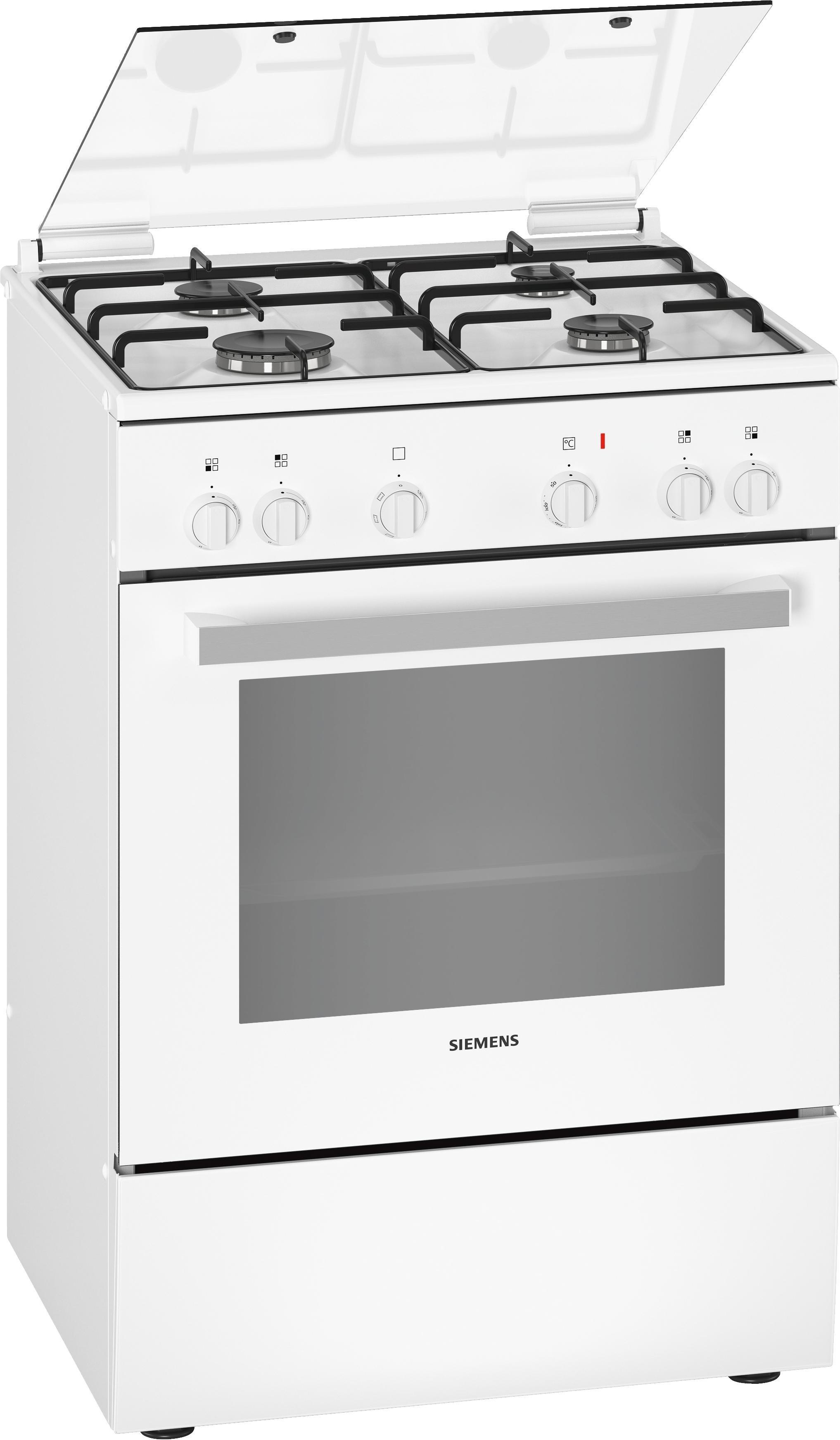 Siemens HX5P00D20N Gasfornuis Wit
