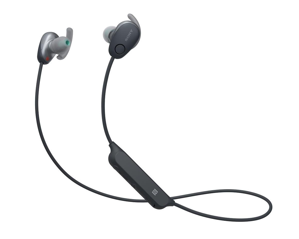 Korting Sony WI SP600N In ear oordopjes