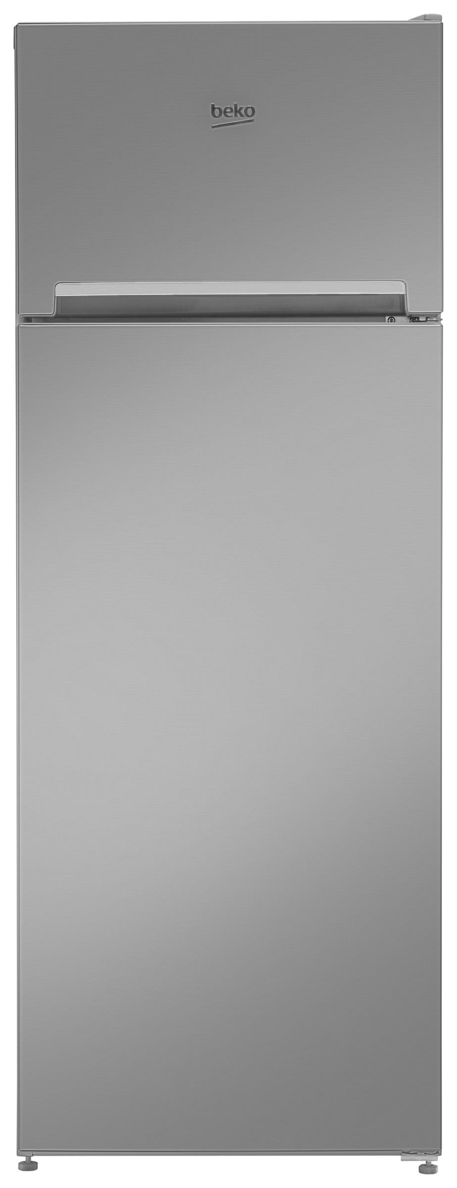 Beko koelkast met vriesvak RDSA240K20XP titanium