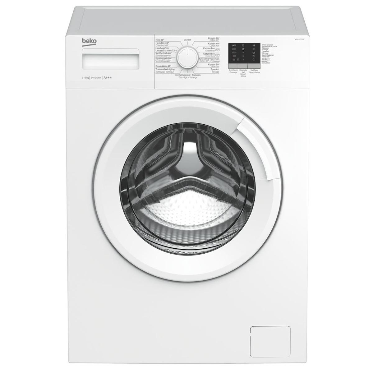 Beko WCV6711BC wasmachine