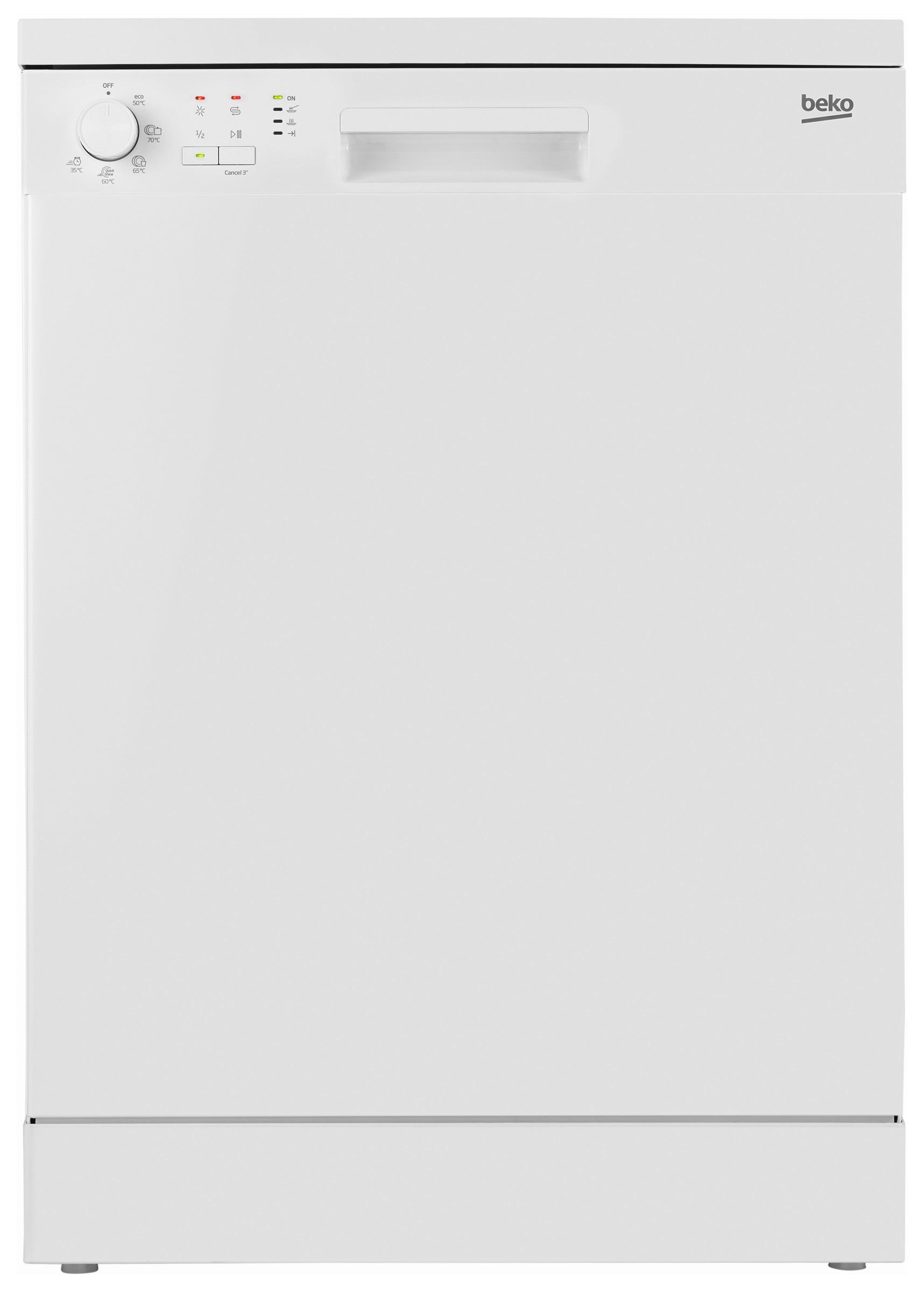 Beko vrijstaande vaatwasser DFN05311W