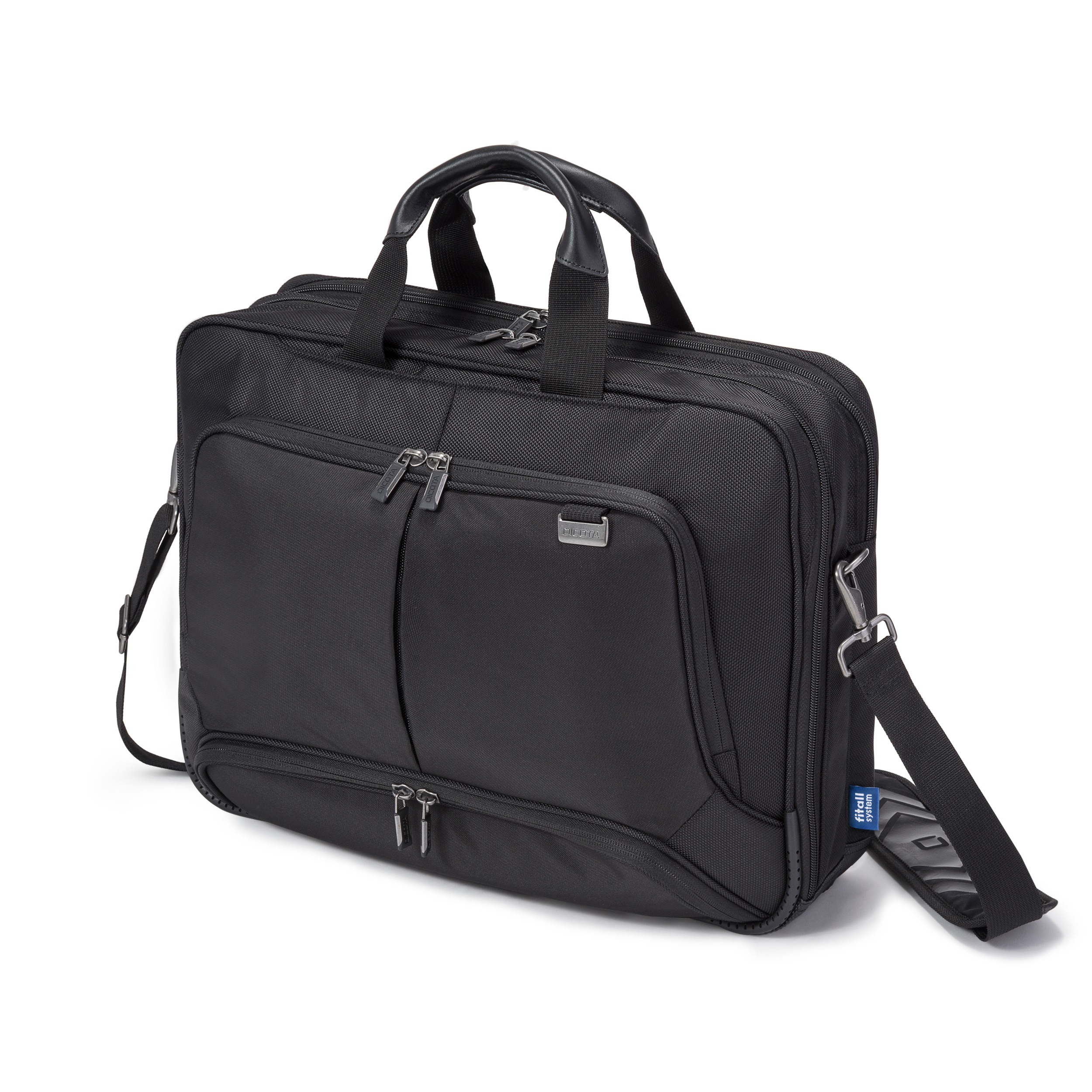 Dicota Top Traveller PRO 14-15.6 Laptop tas Zwart