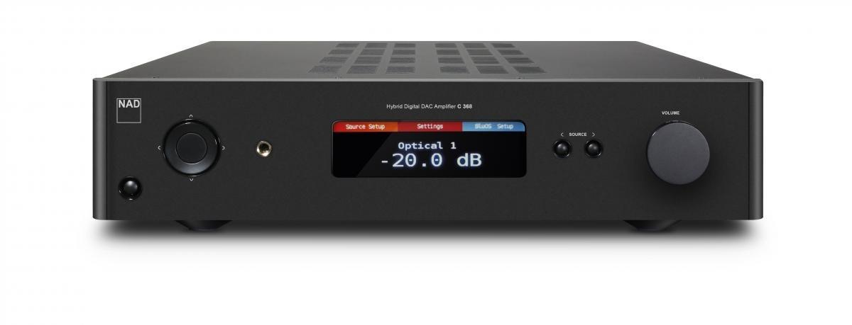 NAD C368 Hybrid Digital DAC versterker