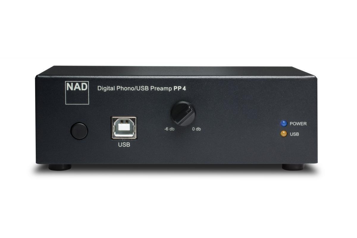 Foto van NAD PP4 USB/RIAA Versterker