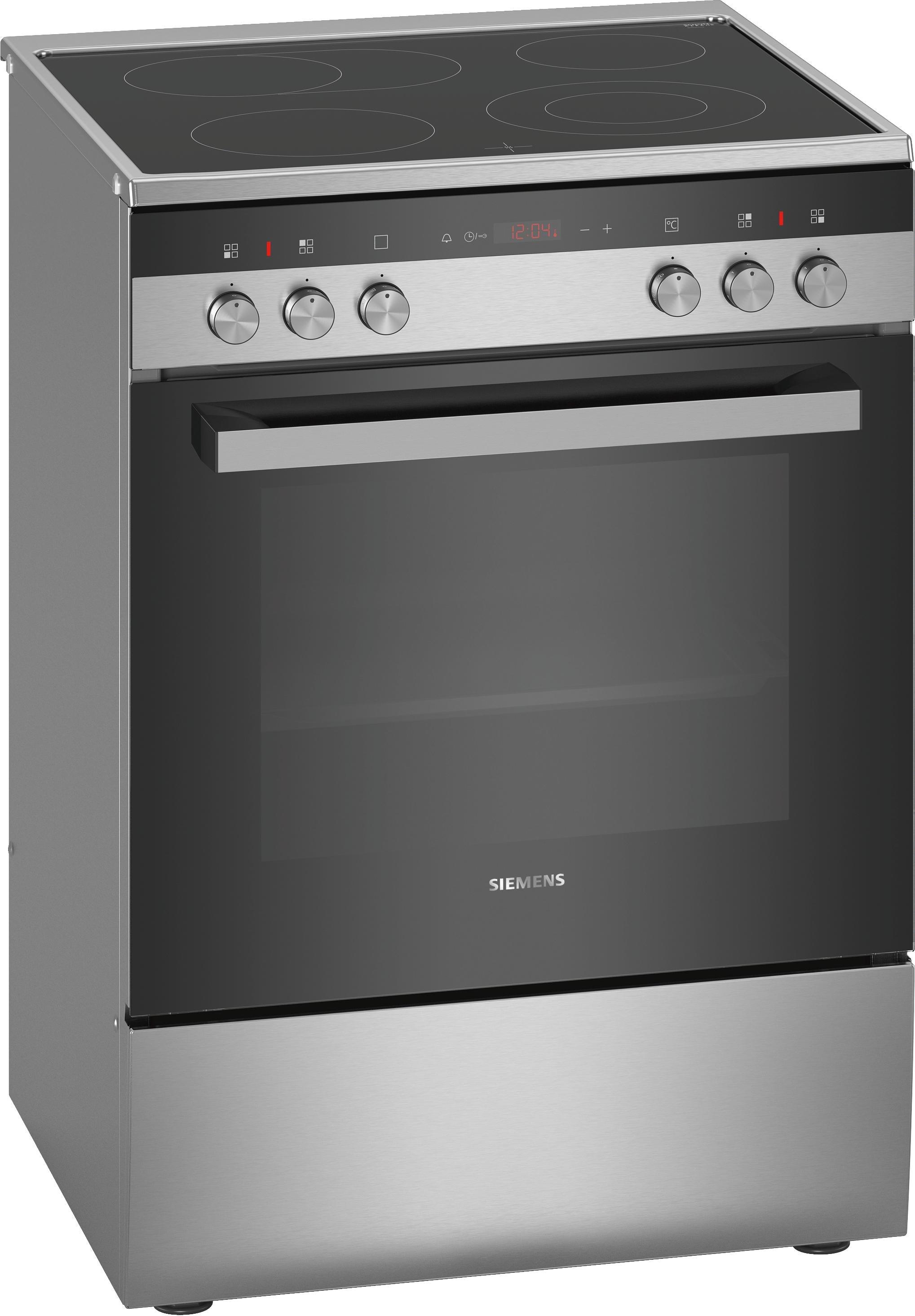Siemens keramisch fornuis HK9R3A250 rvs