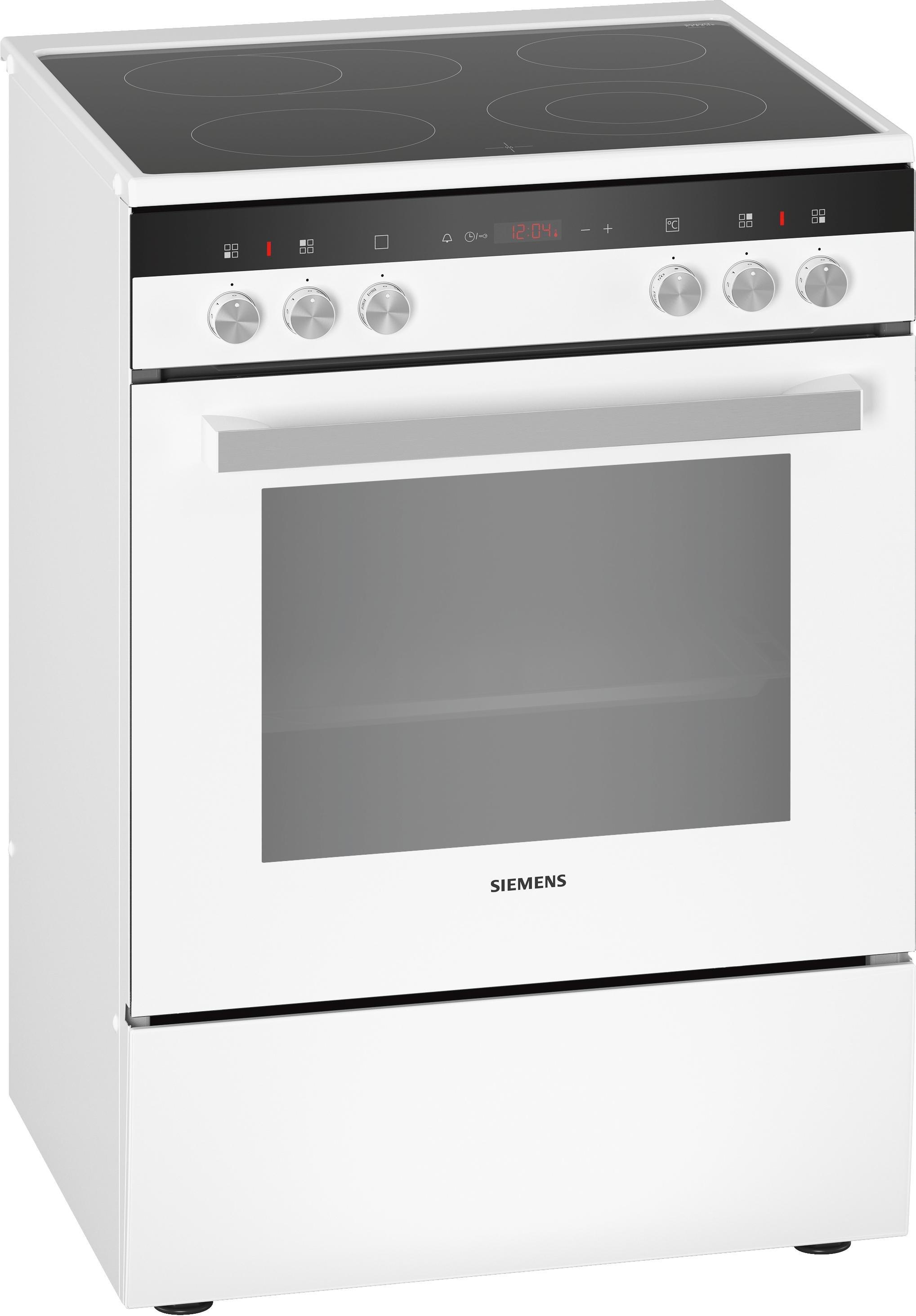 Siemens keramisch fornuis HK9R3A220 wit