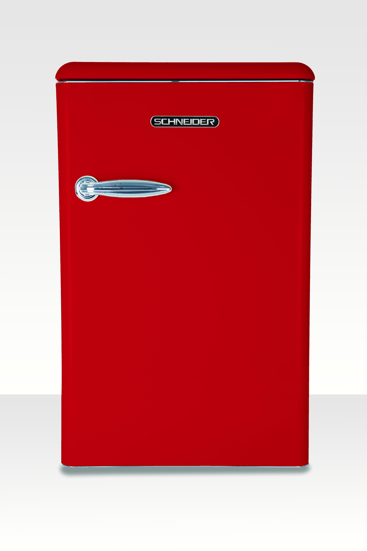 Schneider koelkast zonder vriesvak SL 130 FR TT A++ Fire Red
