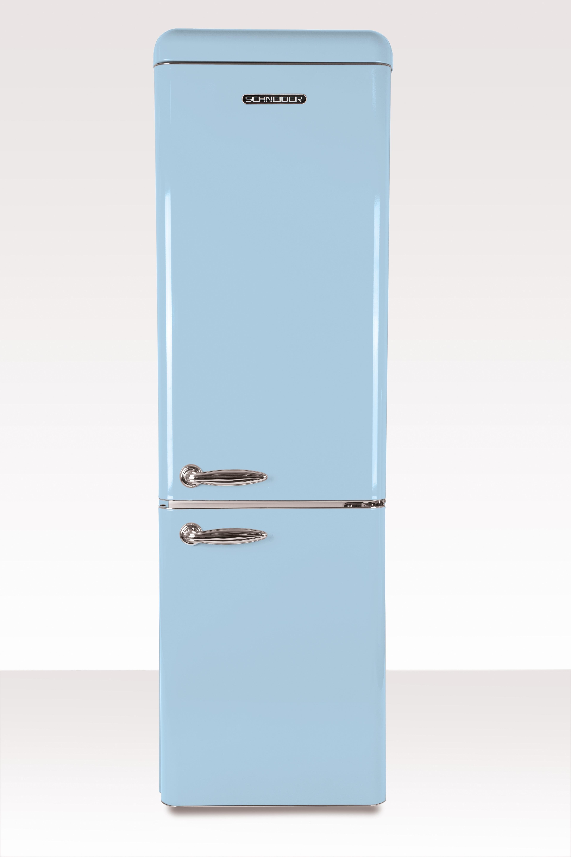 Schneider koelkast met vriesvak SL 250 LB CB A++ Light Blue