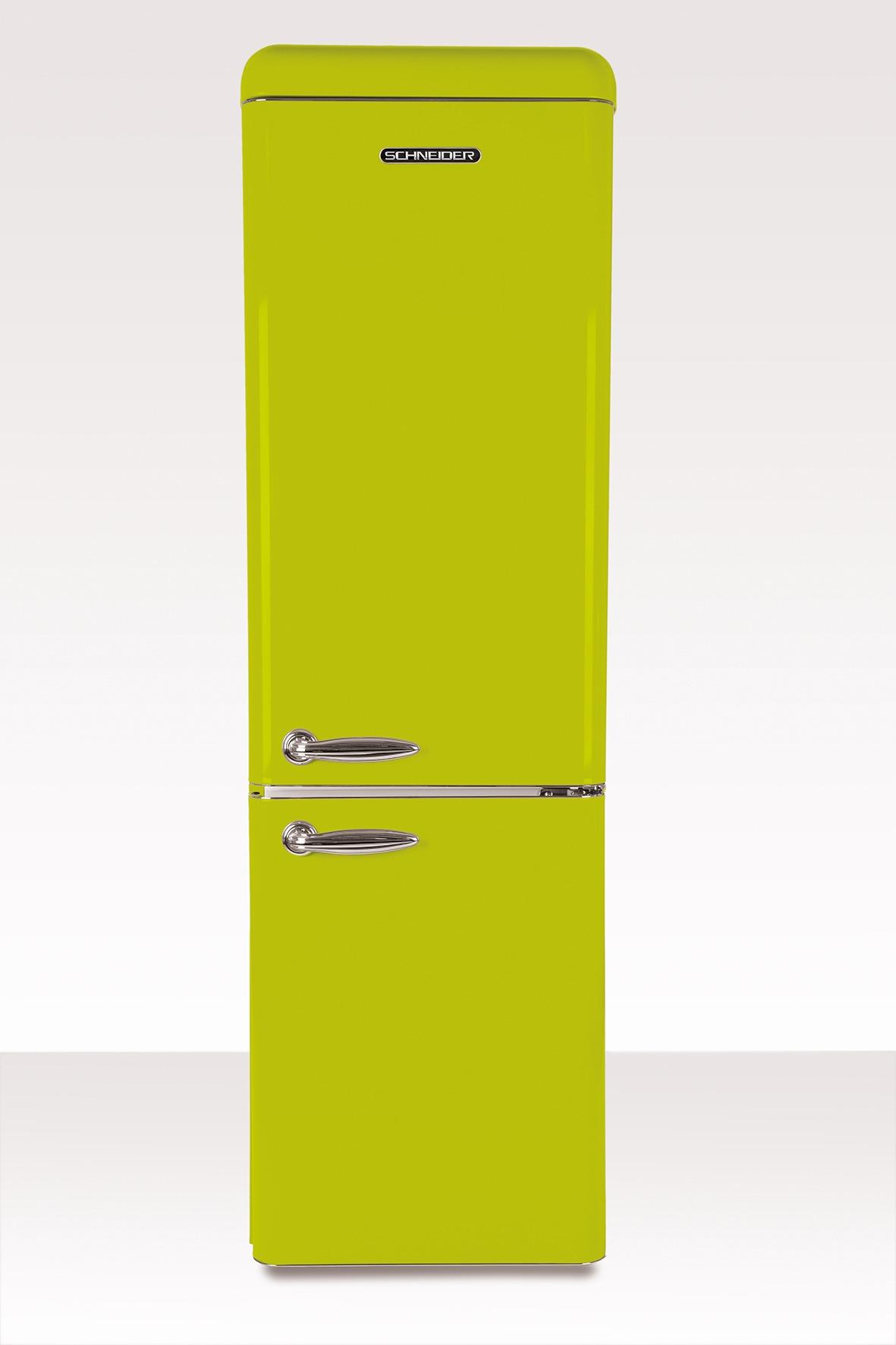 Schneider koelkast met vriesvak SL 250 LG CB A++ Lime Green