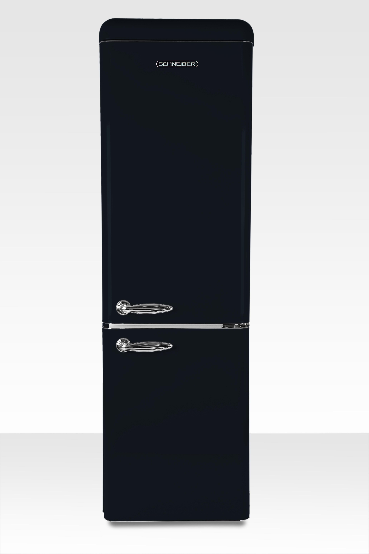 Schneider koelkast met vriesvak SL 300 B CB A++ Black Matt