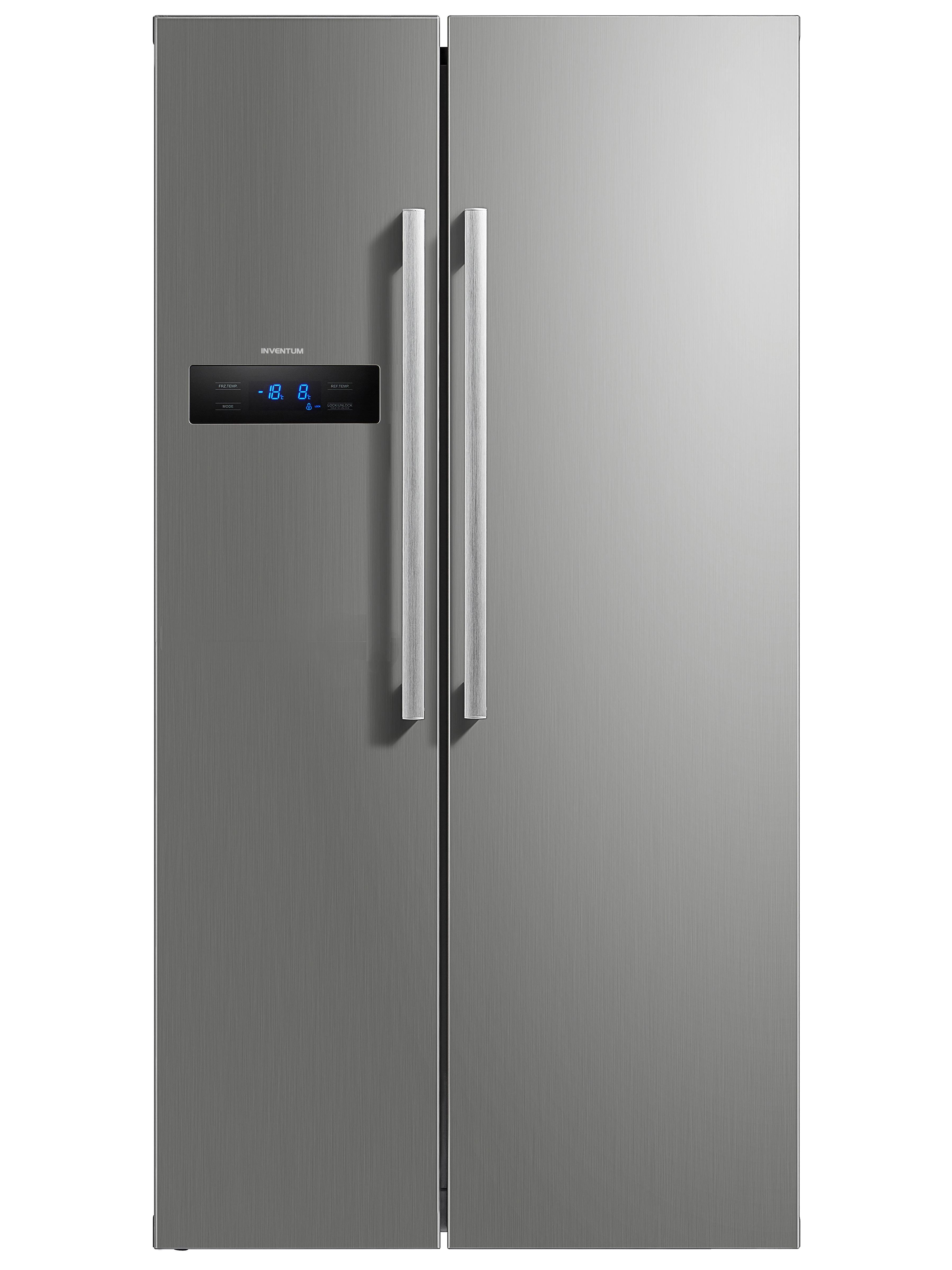 Inventum SKV1780R Amerikaanse koelkast Staal