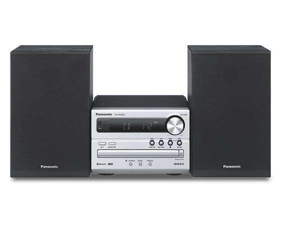 Foto van Panasonic SC-PM254EG-S Stereo set